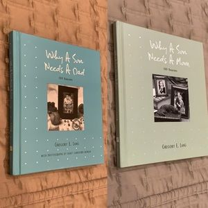 Why a Son Needs a Mom / Dad Gift Book Set